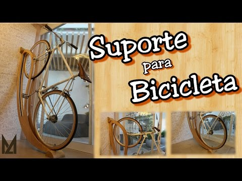 29bf92c05 Faça você mesmo - Suporte para Bicicleta indoor outdoor - YouTube
