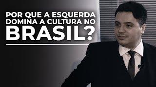 Por que a esquerda domina a cultura no Brasil?   Rafael Nogueira  Núcleo de Formação Brasil Paralelo