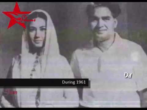 Meena Kumari & Kamal Amrohi rare pics - Pakeezah unsung Song
