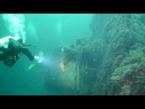 Vrakdykking Narvik på Hermann Kunne / Wreckdiving Hermann Kunne at Narvik