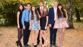 ТСШ № 1, 11 А класс - выпускники 2015 года.