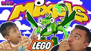 ✔ Lego Challenge Миксель Лего 41549 GURGGLE 41550 SLUSHO 41548 DRIBBAL = MAX GLORP CORP