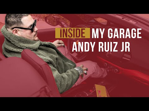 DANK CITY | INSIDE MY GARAGE | ANDY RUIZ JR