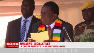REPORTAGE ZIMBABWE LEGISLATIVES