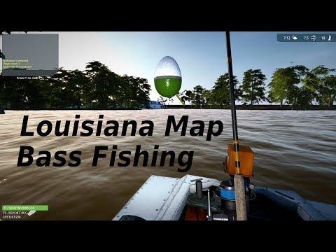 Ultimate Fishing Simulator, New Lake Louisiana, Bass Fishing Guide