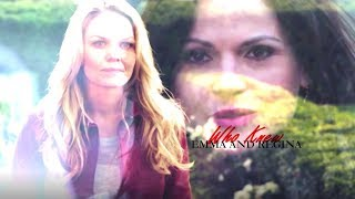 Emma and Regina (SwanQueen) || Who knew