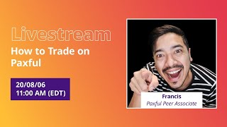 #PaxfulPeer: How to trade on Paxful with The Crypto Lifestyle