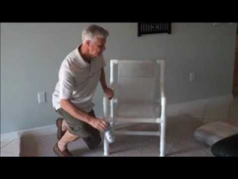pvc pipe patio furniture how to stop that creaking squeaking noise