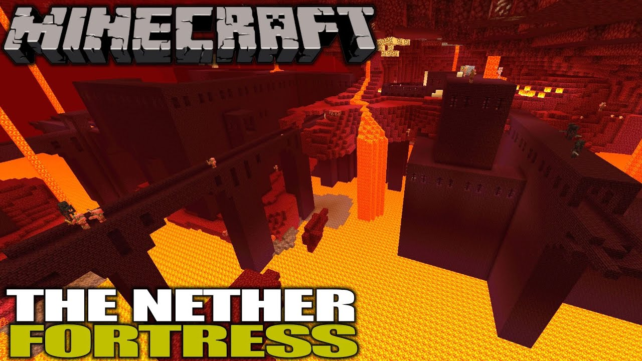 The Nether Fortress, Blaze Rods & Wither Skeletons | Minecraft | Let's Play  Gameplay | E12