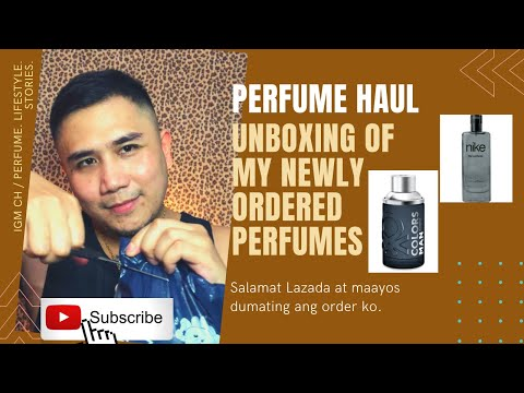 #nike-#benetton-#perfumehaul-perfume-unboxing.-dumating-na-ang-order-kong-perfume-sa-lazada.