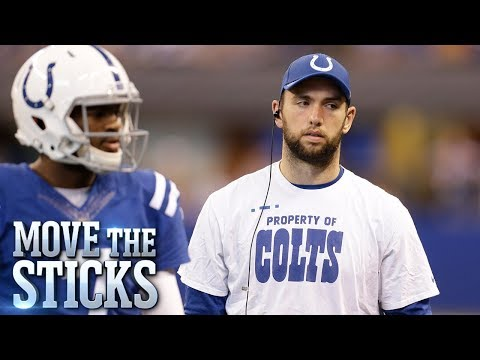 Would the Colts be Better off Trading Andrew Luck and Rebuilding? | Move the Sticks | NFL Network