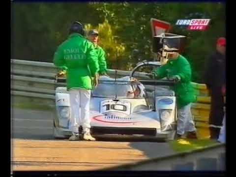 1999 LeMans AudiR8C retirement Eurosport version