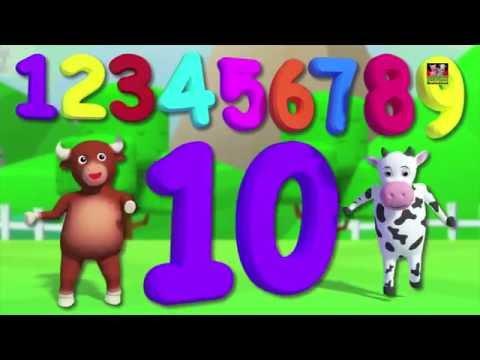 Zahlen Lied 1-100   Zählen Zahlen   Kinder reimen   Kindervers   Numbers Song 1-100   Learn Numbers