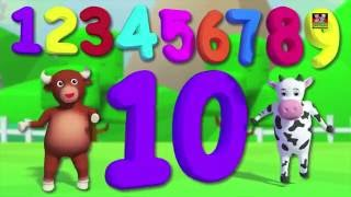 Zahlen Lied 1-100 | Zählen Zahlen | Kinder reimen | Kindervers | Numbers Song 1-100 | Learn Numbers