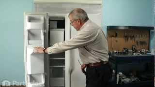 Refrigerator Repair - Replacing the Evaporator Fan Motor (Whirlpool Part # 4389144)