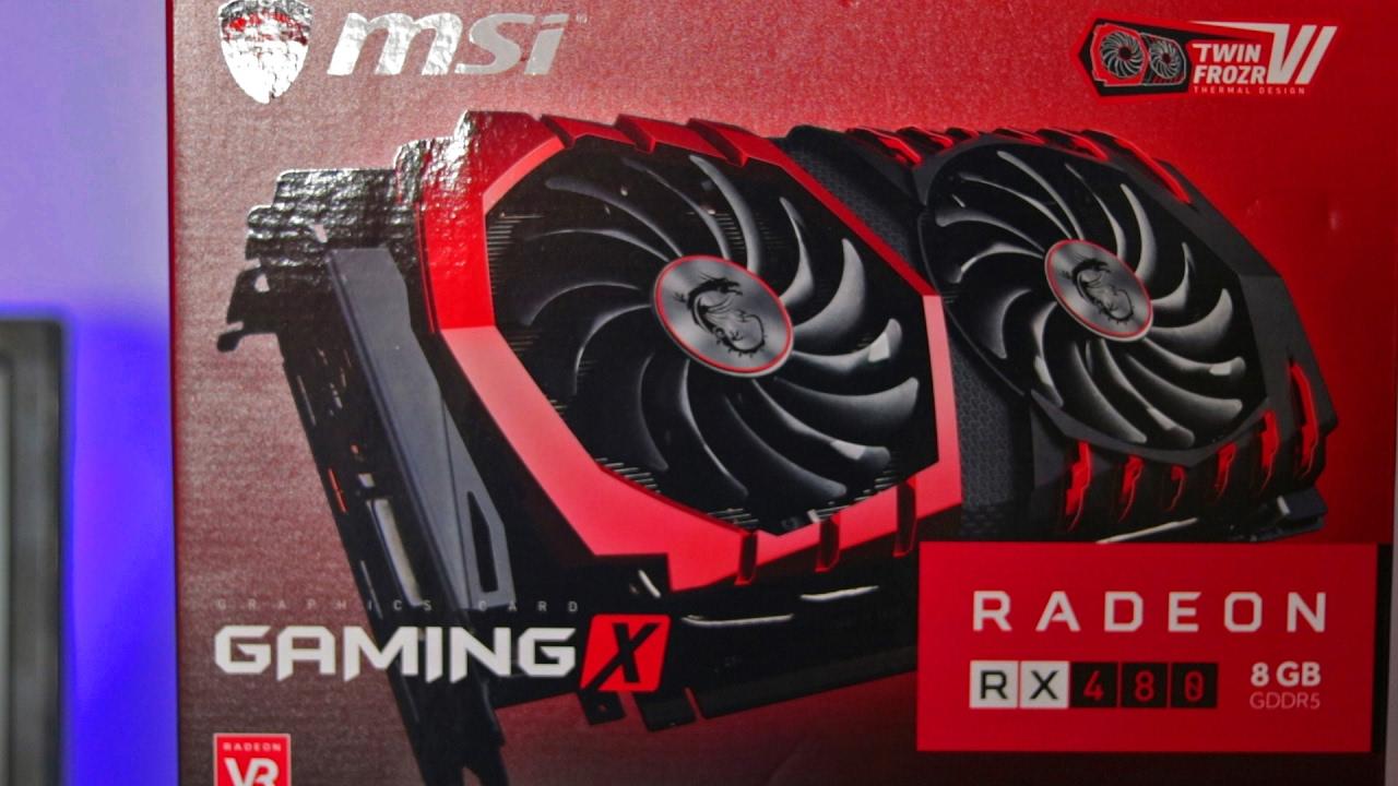 Why I Chose the MSI RX 480 Gaming X GPU