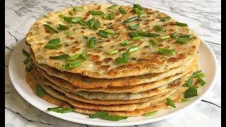 Вкуснющие Лепешки с Зеленым Луком Очень Просто и Быстро!!! / Tortillas with Green Onions