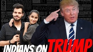 Indians React On DONALD TRUMP Victory !