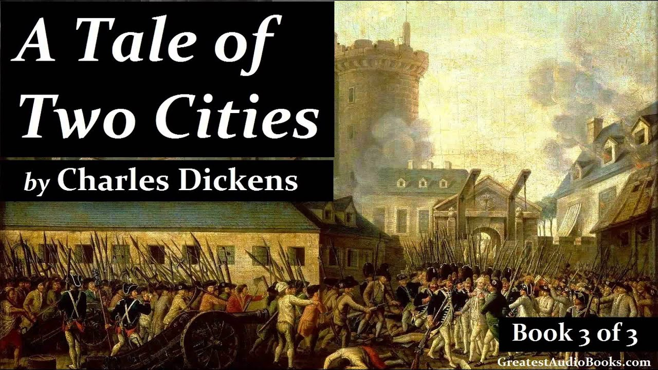a book full of suspense and mystery in a tale of two cities by charles dickens