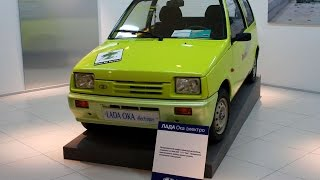 #1627. Lada 1111 OKA Electric Concept [RUSSIAN CARS]