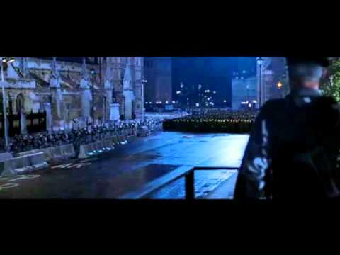V for Vendetta - final revolution scene