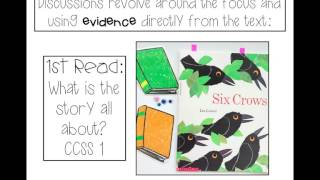 Close Reading with any book in Kindergarten and 1st Grade