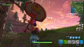 *NEW* SLAM DUNK FORTNITE PICKAXE SOUND EFFECTS AND GAMEPLAY! @xlPhilly