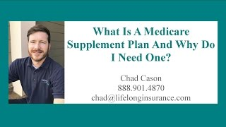 """Gambar cover What is a Medicare Supplement """"Medigap"""" Insurance Plan?"""