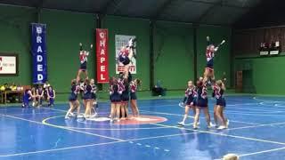 Cheerleading Routine Big 4 2019