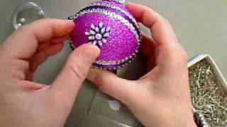 'Sugar Plum' Christmas Ornament
