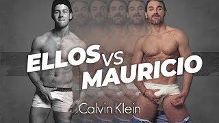 Imitando Los Sexys de Calvin Klein Vs Mauricio Mejia