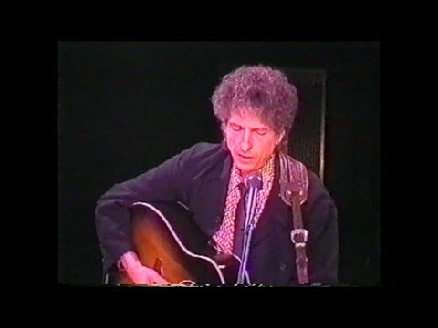Bob Dylan-Ring Them Bells-Vicar Street Dublin-13.09.2000
