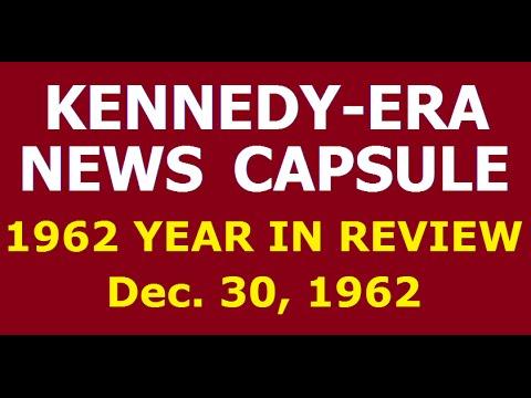 KENNEDY-ERA NEWS CAPSULE: 12/30/62 (NBC RADIO NETWORK)