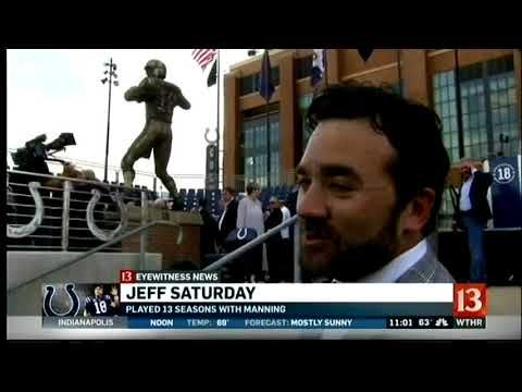 October 2017 - Indianapolis Colts Dedicate Statue to Peyton Manning