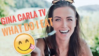 Gina Carla TV 🥗🥩🥬 What I #Eat In A Week! 7 Days Report!