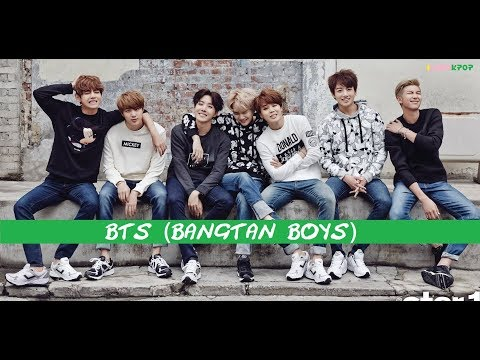 BTS Integrantes y Biografia (part. 1) 2013-2016