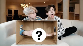 WHAT'S IN THE BOX CHALLENGE w/ Lil Huddy