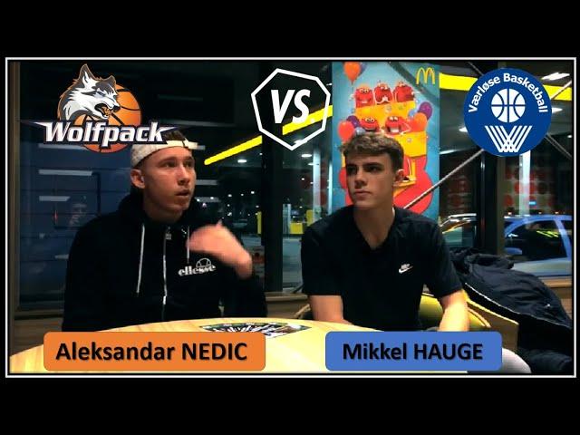 Interwiev Med Nedic og Hauge