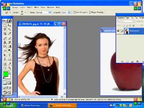 How to use Adobe Photoshop - 14. How to use BLUR and SMUG Tool to ...