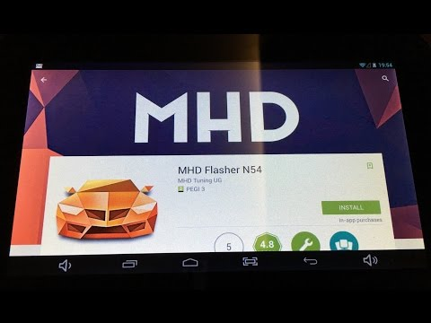 MHD flasher for BMW N54 engine - how to