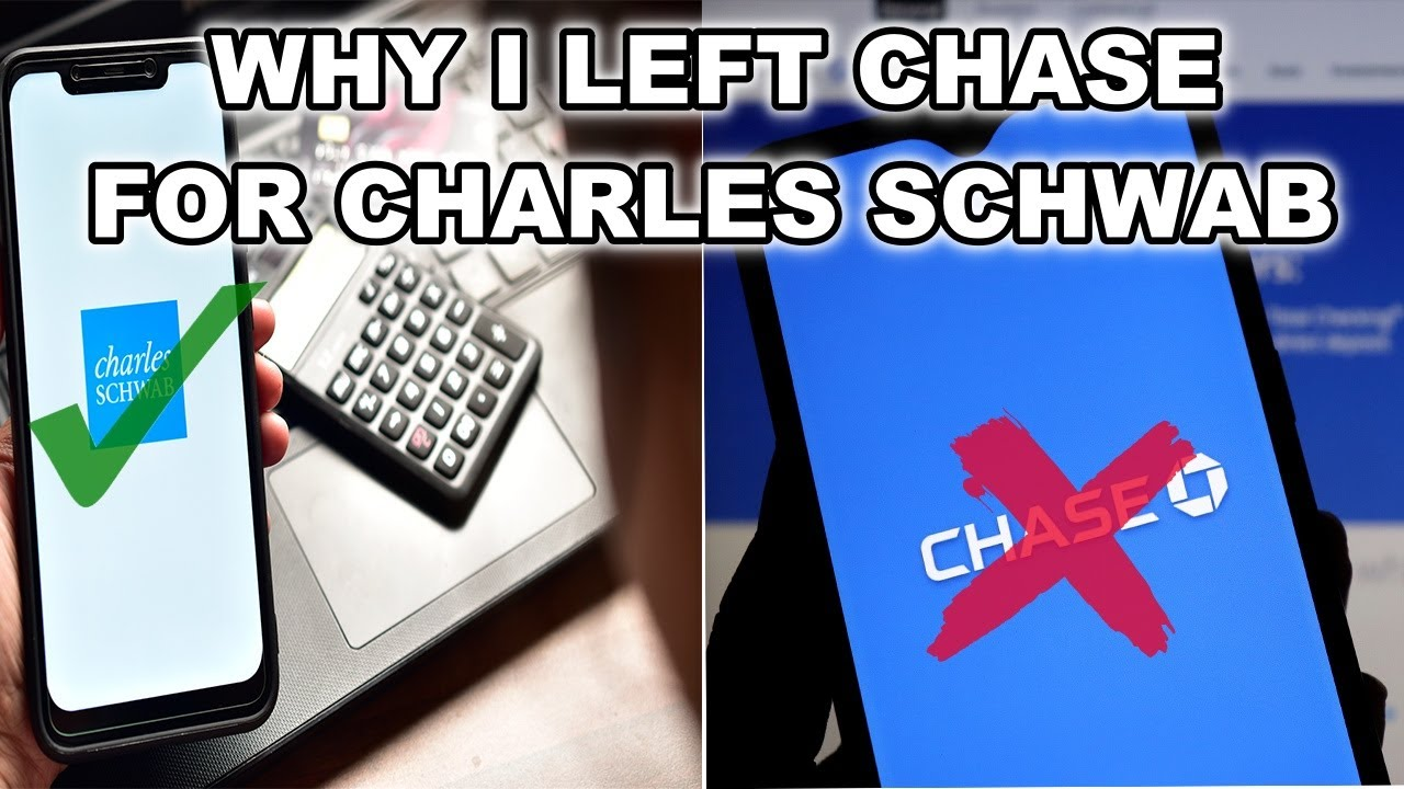 Switched From Chase to Charles Schwab Bank Investor Checking