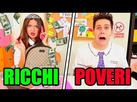RICCHI vs POVERI A SCUOLA