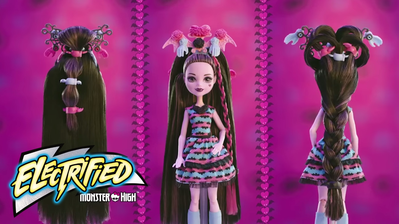 Jocuri monster high draculaura hairstyle hair monster high party hair draculaura tv commercial winobraniefo Image collections