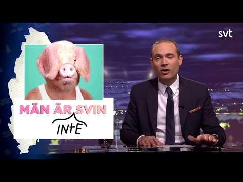 Svenska Nyheter: Män är svin.