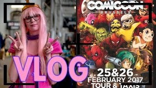 [Vlog] Brussels Comic con : Une convension pas drole.