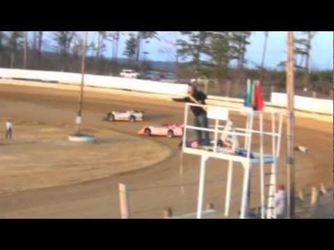 Jackson County Speedway (OH) AMRA Late Model feature highlights 3-23-2013
