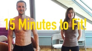 15min Workout Routine - You Can Do Anywhere Without Weights (More Fit, Less Effort)