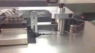 TSD 850 High blade bending machine working video