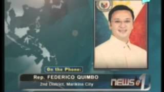 Panayam kay Rep. Federico Quimbo, kaugnay ng Anti-Cybercrime Law