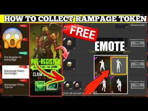How To Collect Rampage Token 🔥🔥|| Free Fire New Rampage Event Full Detail In Hindi 😎